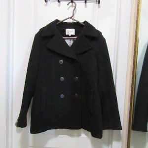 Black Pea Cleo coat size 14